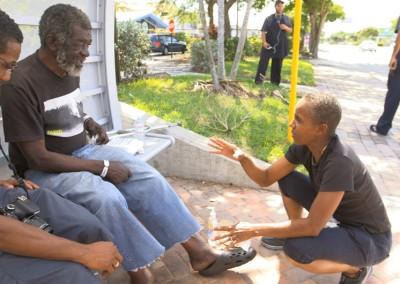 Gloria Lewis Helping the Needy